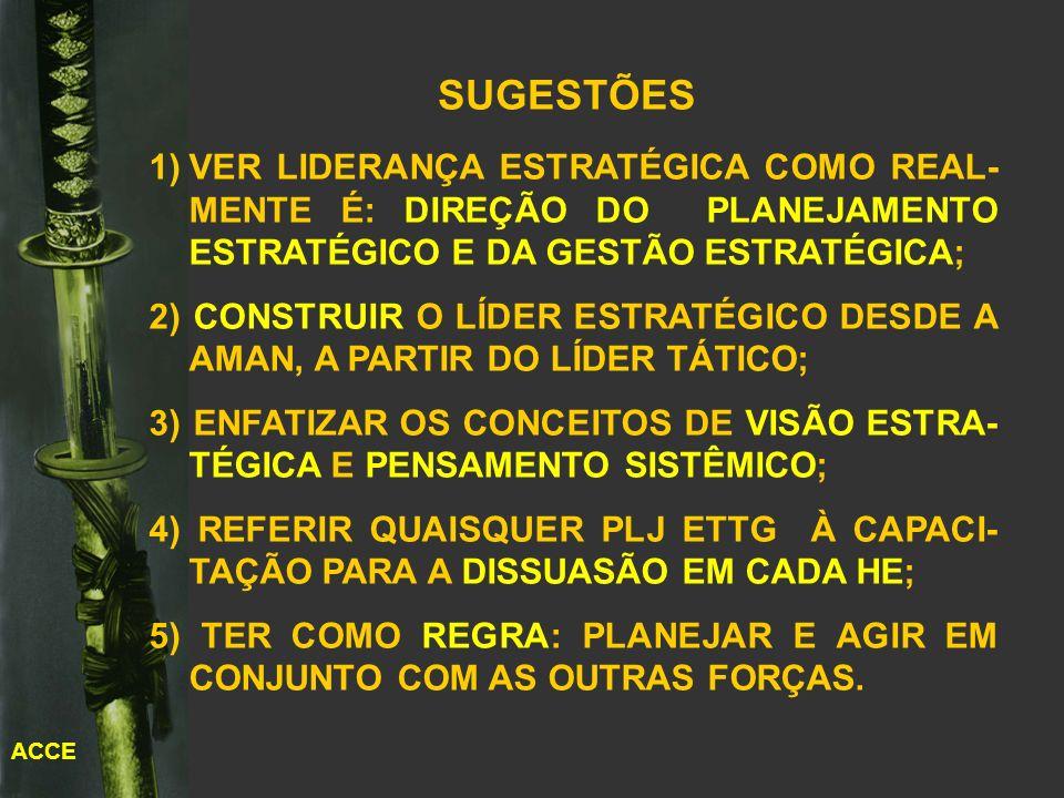 5) TER COMO REGRA: PLANEJAR E AGIR EM CONJUNTO COM AS OUTRAS FORÇAS.