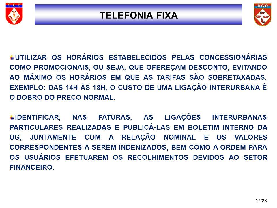 1717 TELEFONIA FIXA.