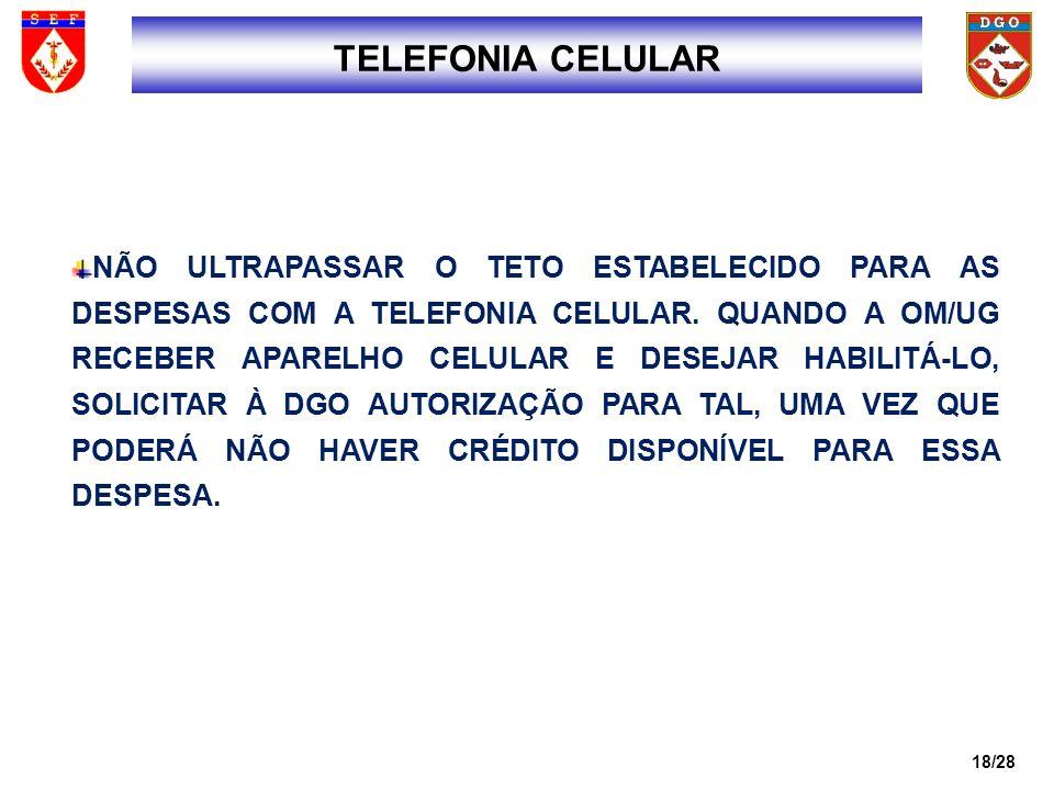 1818 TELEFONIA CELULAR.