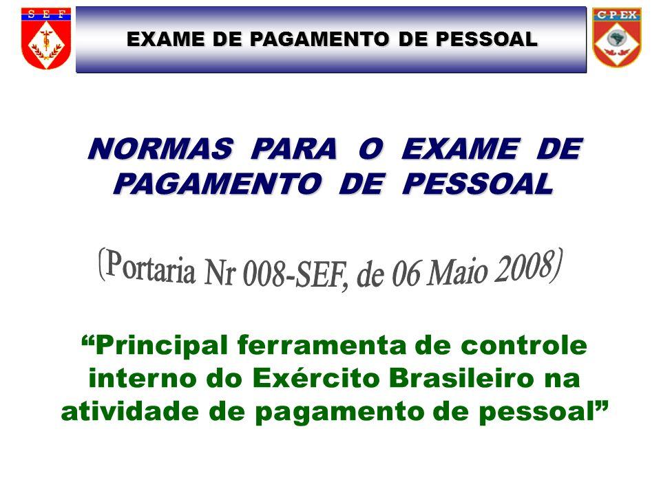 (Portaria Nr 008-SEF, de 06 Maio 2008)