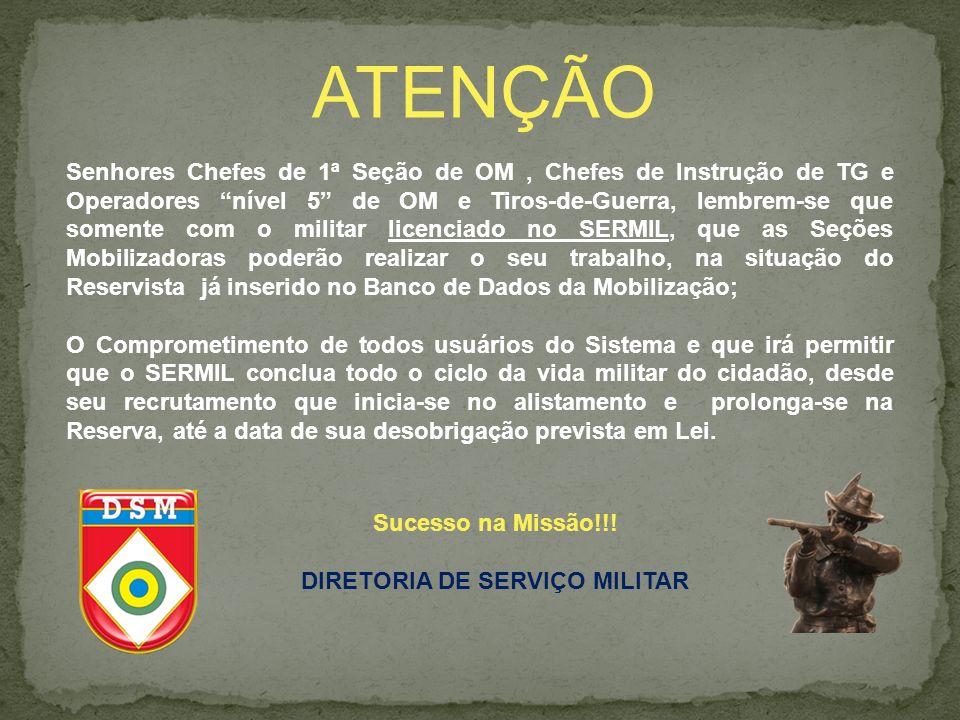 DIRETORIA DE SERVIÇO MILITAR
