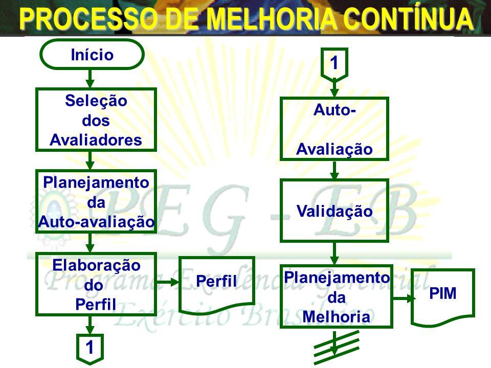 PROCESSO DE MELHORIA CONTÍNUA