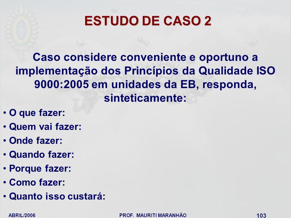 ESTUDO DE CASO 2