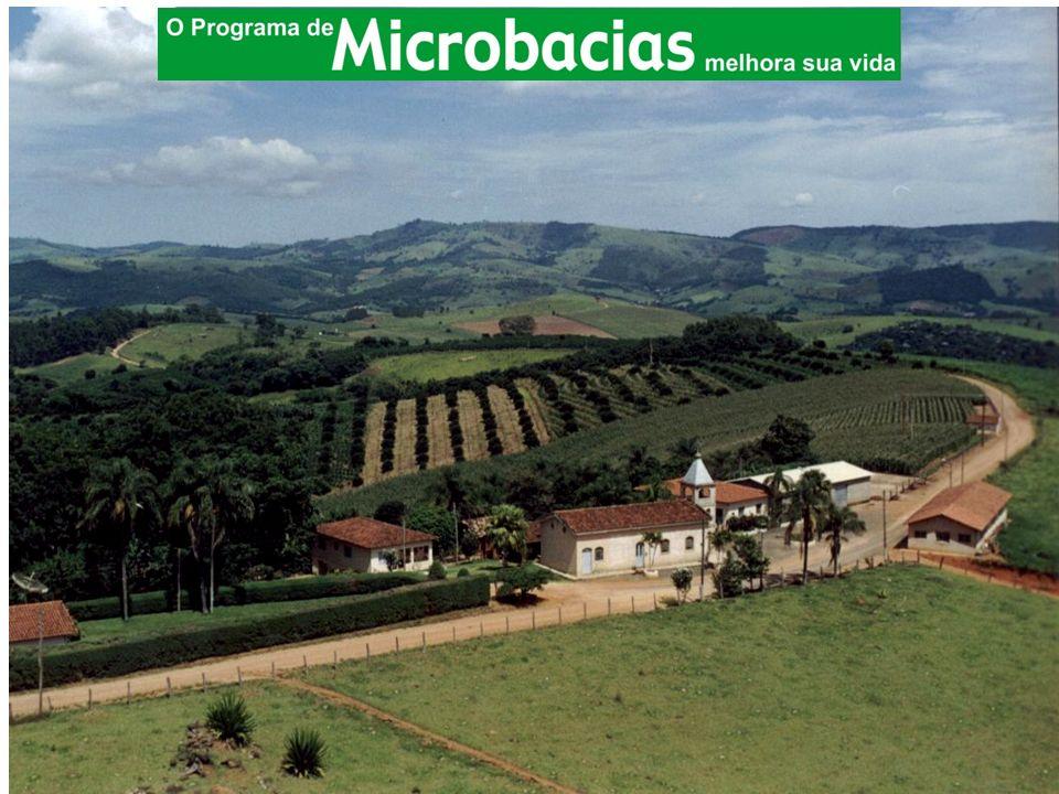 O Programa Estadual de Microbacias Hidrográficas é executado desde o ano 2.000, com financiamento parcial do Banco Mundial.