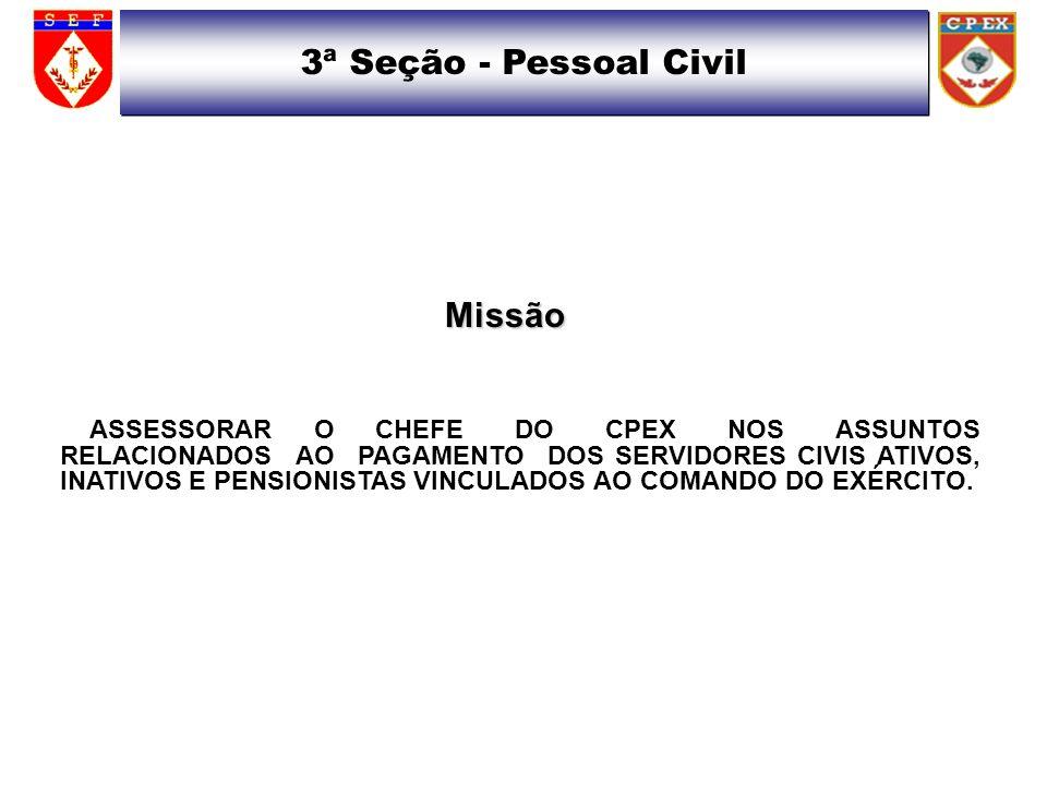 3ª Seção - Pessoal Civil Missão