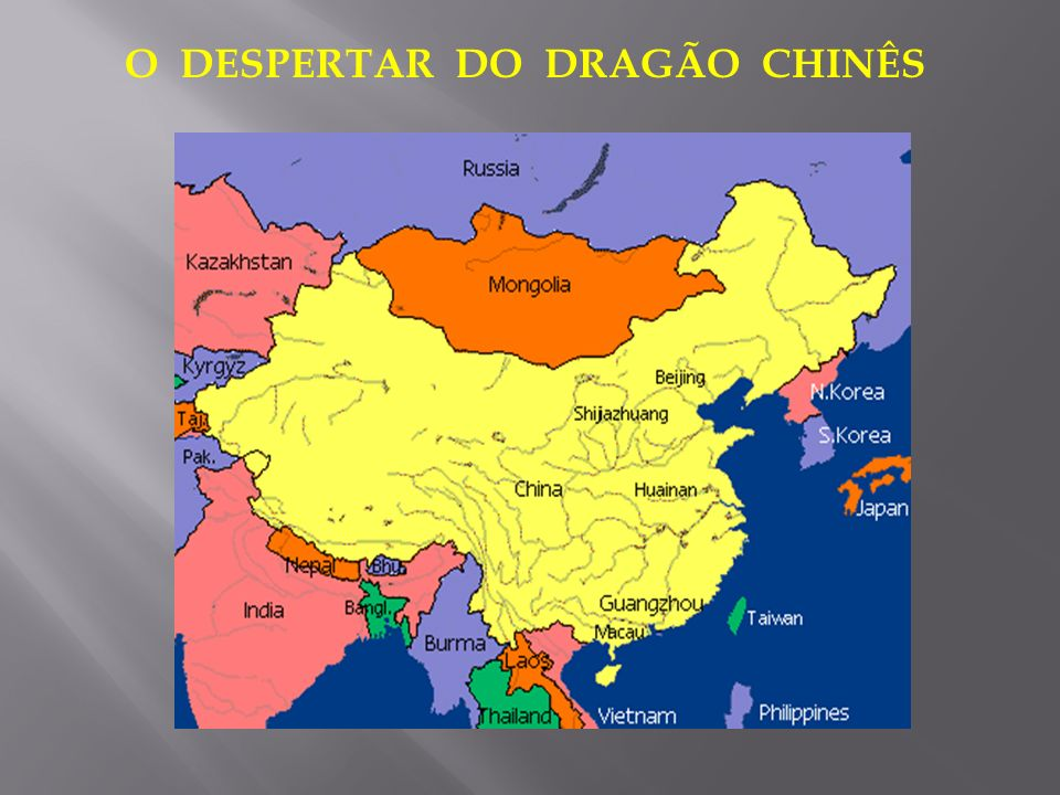 O DESPERTAR DO DRAGÃO CHINÊS