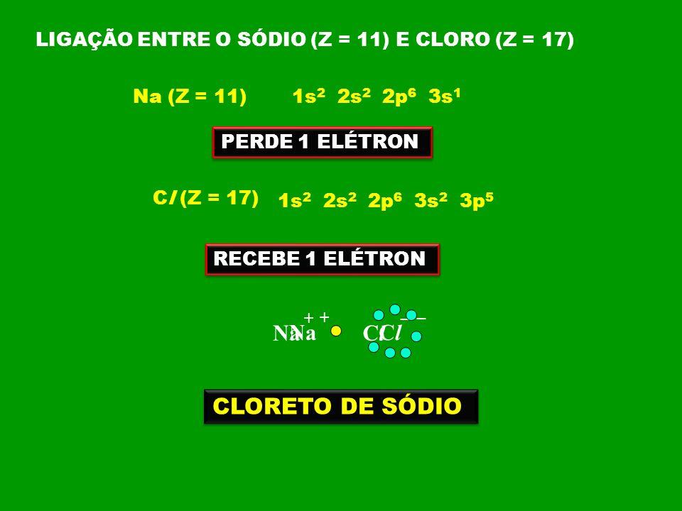 Na Na Cl Cl CLORETO DE SÓDIO