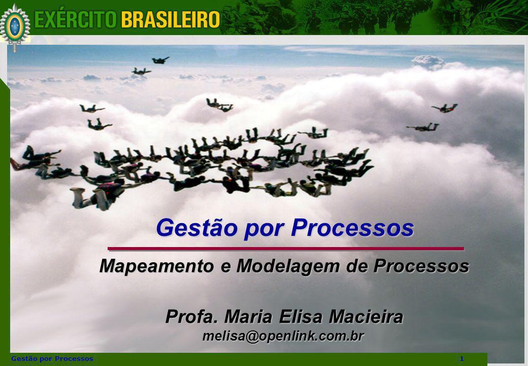 Gestão por Processos Mapeamento e Modelagem de Processos