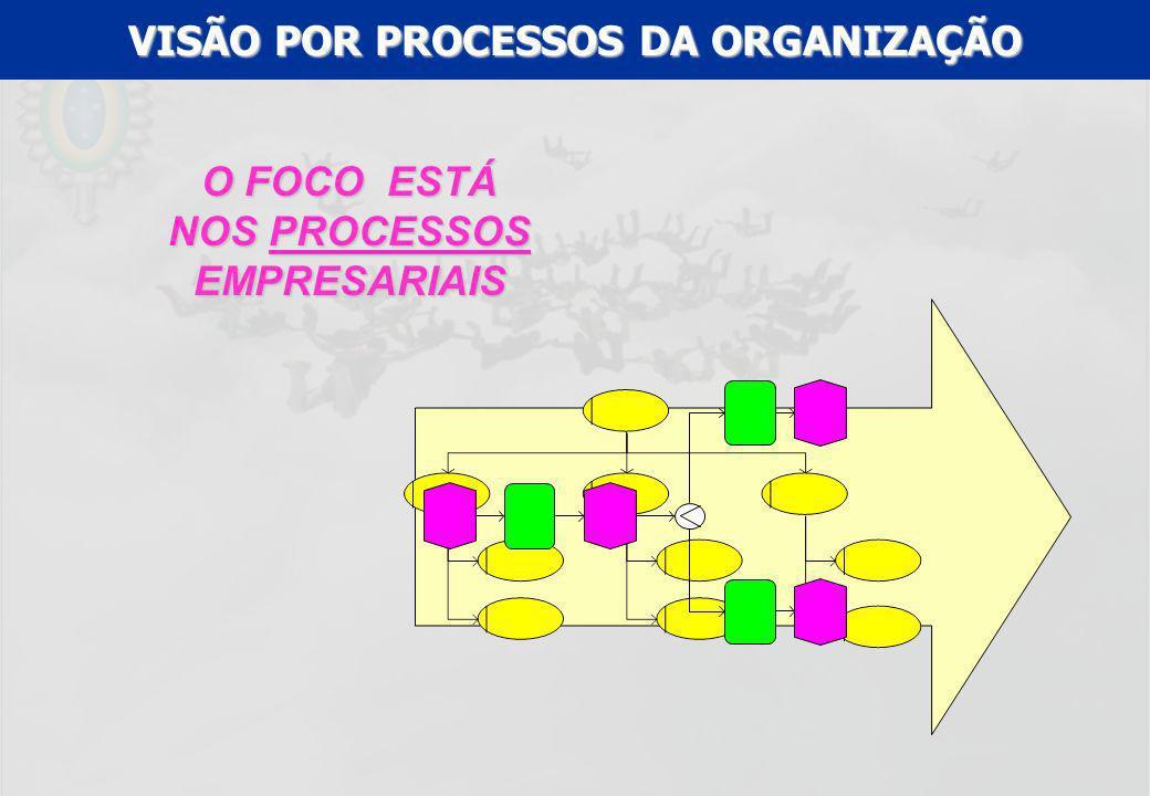 VISÃO POR PROCESSOS DA ORGANIZAÇÃO