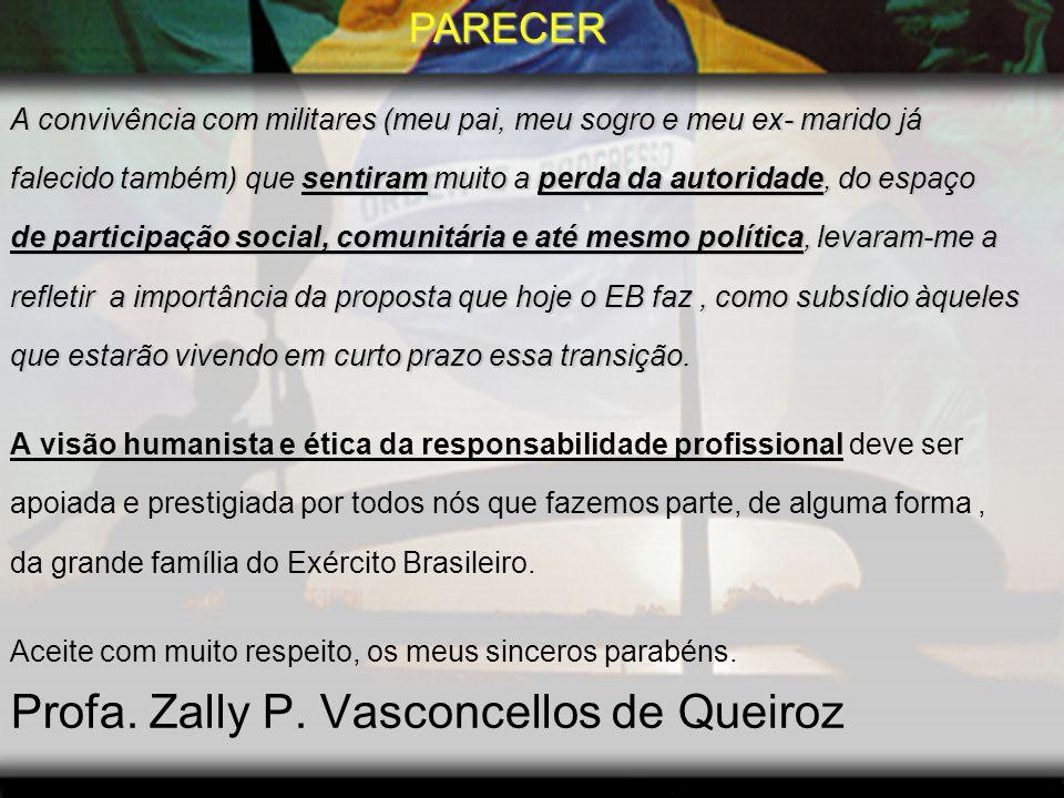 Profa. Zally P. Vasconcellos de Queiroz