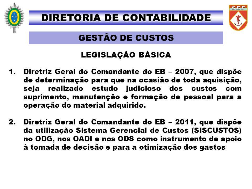 DIRETORIA DE CONTABILIDADE