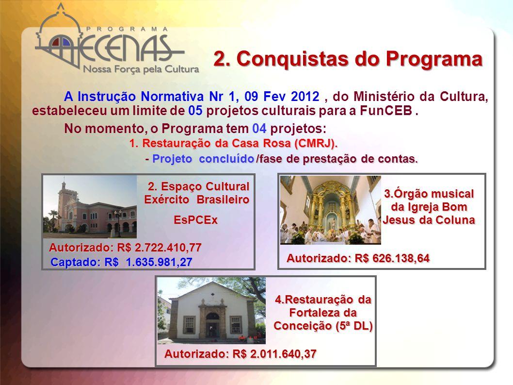 2. Conquistas do Programa