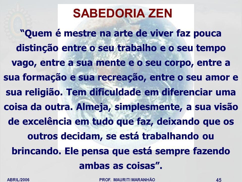 SABEDORIA ZEN