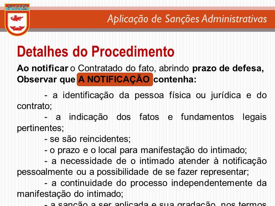 Detalhes do Procedimento