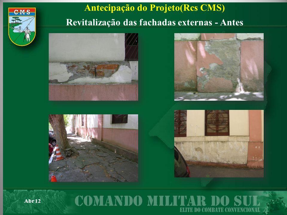 Antecipação do Projeto(Rcs CMS)