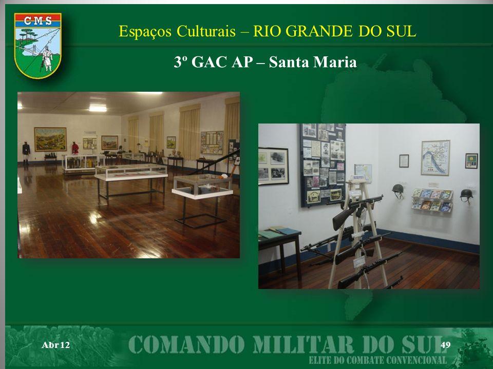 Espaços Culturais – RIO GRANDE DO SUL