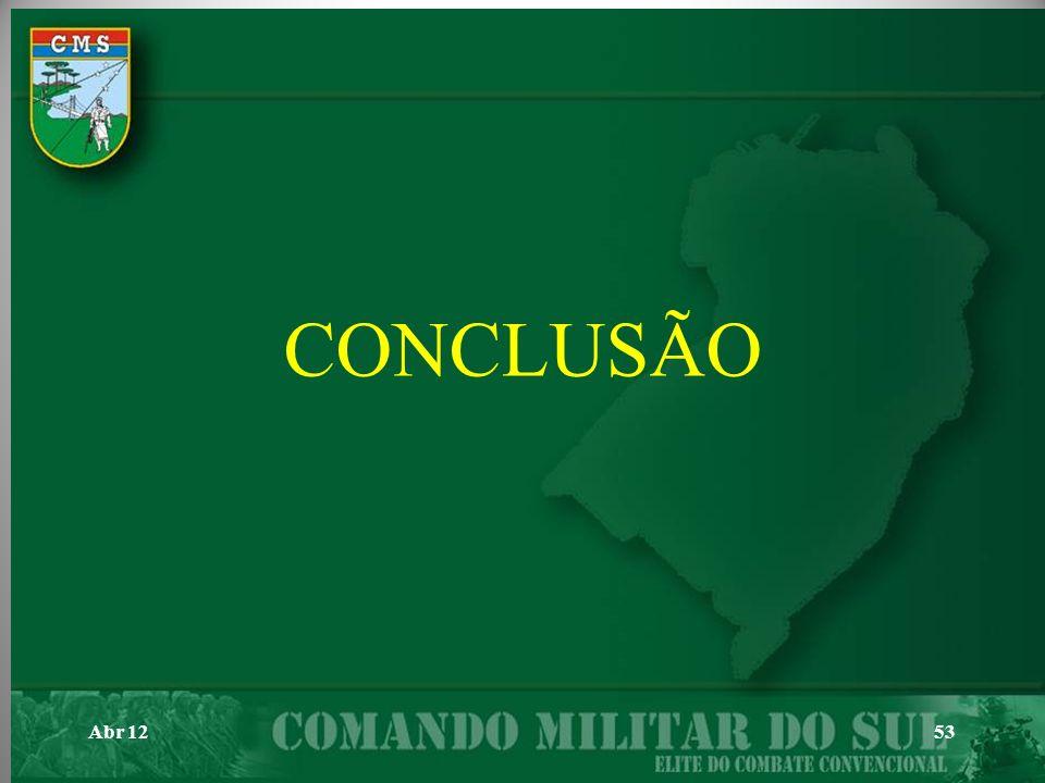 CONCLUSÃO Abr 12 53 53 53 53
