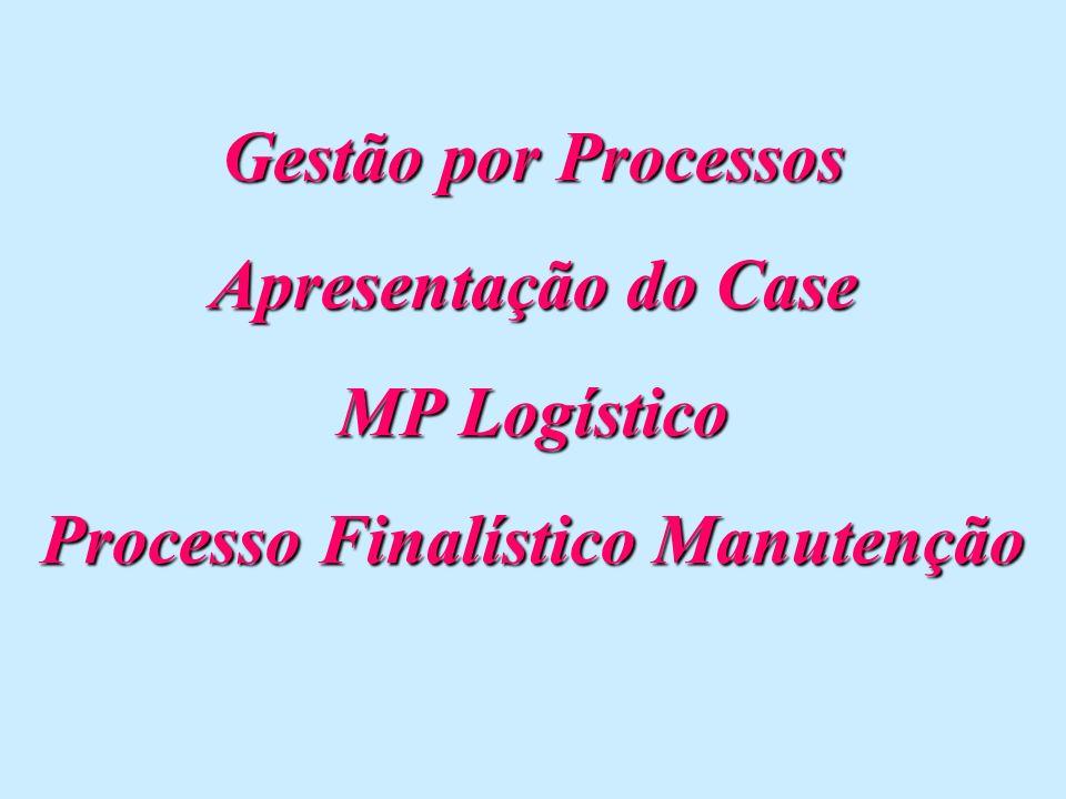 Processo Finalístico Manutenção