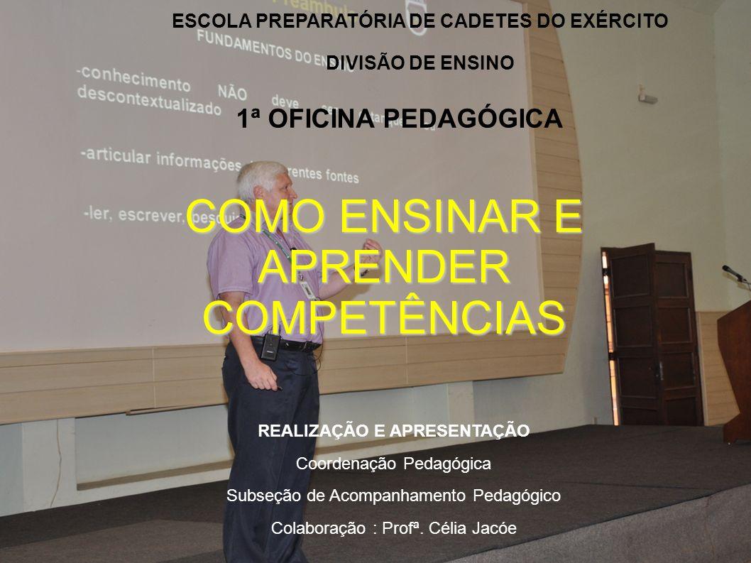 ESCOLA PREPARATÓRIA DE CADETES DO EXÉRCITO REALIZAÇÃO E APRESENTAÇÃO