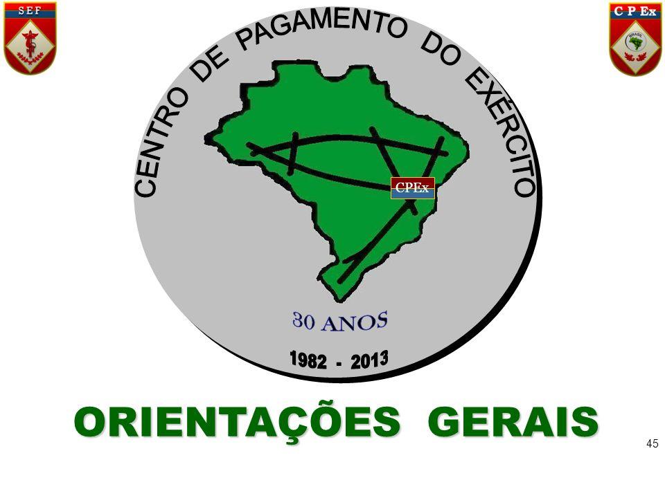 CENTRO DE PAGAMENTO DO EXÉRCITO