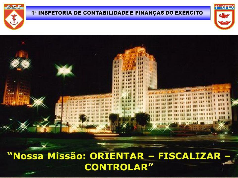 Nossa Missão: ORIENTAR – FISCALIZAR – CONTROLAR