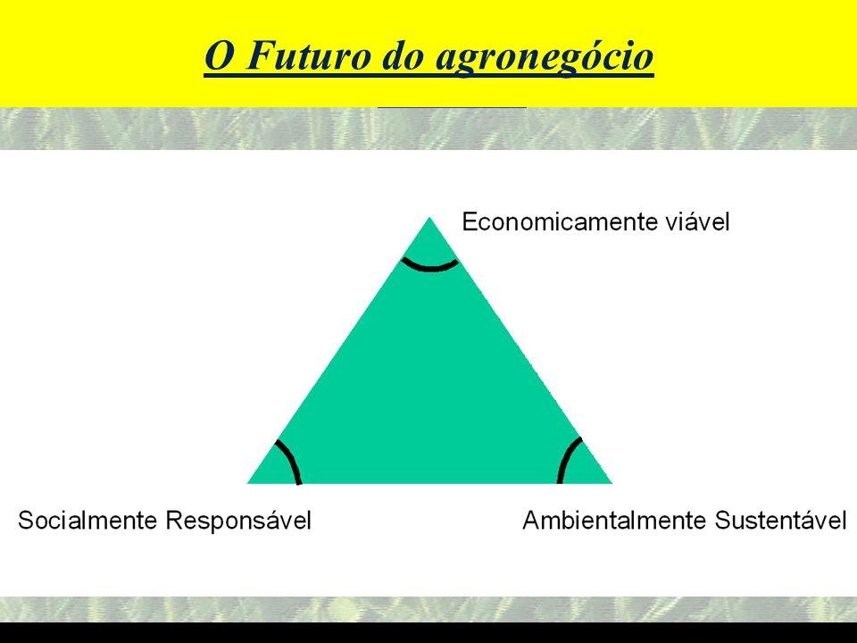 O Futuro do agronegócio O Futuro do Agronegócio