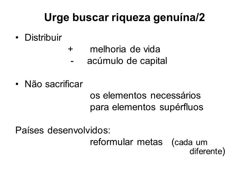 Urge buscar riqueza genuína/2