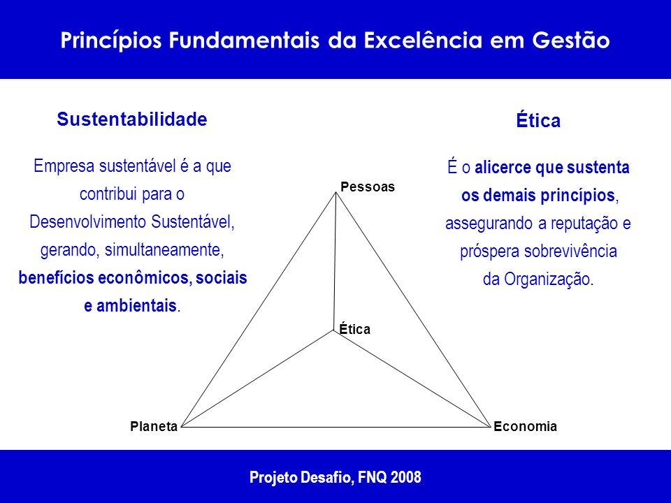 Princípios Fundamentais da Excelência em Gestão