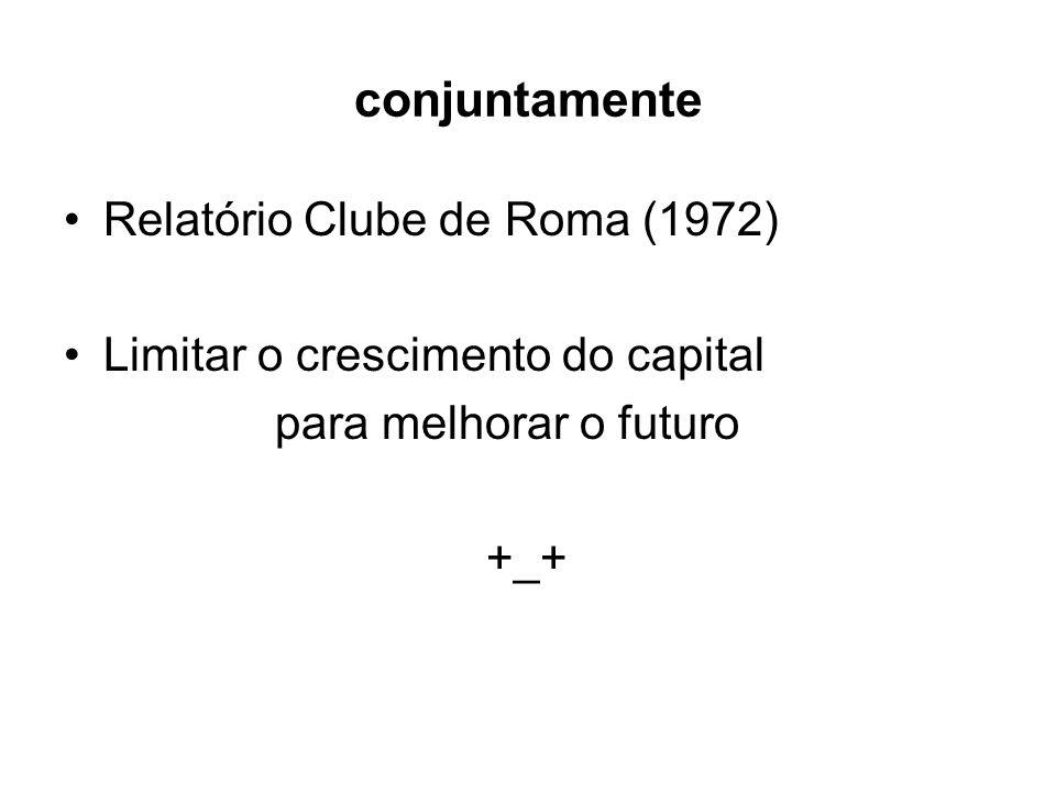 conjuntamente Relatório Clube de Roma (1972)