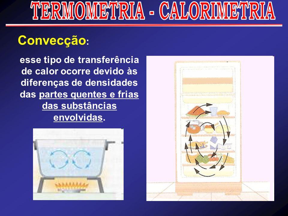 TERMOMETRIA - CALORIMETRIA