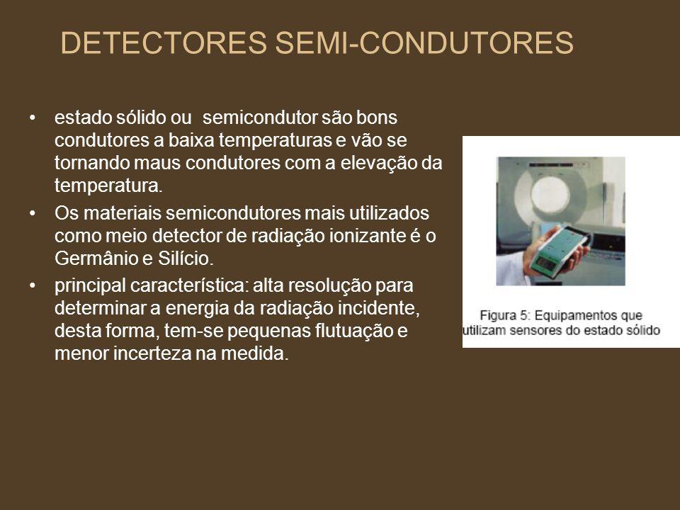 DETECTORES SEMI-CONDUTORES