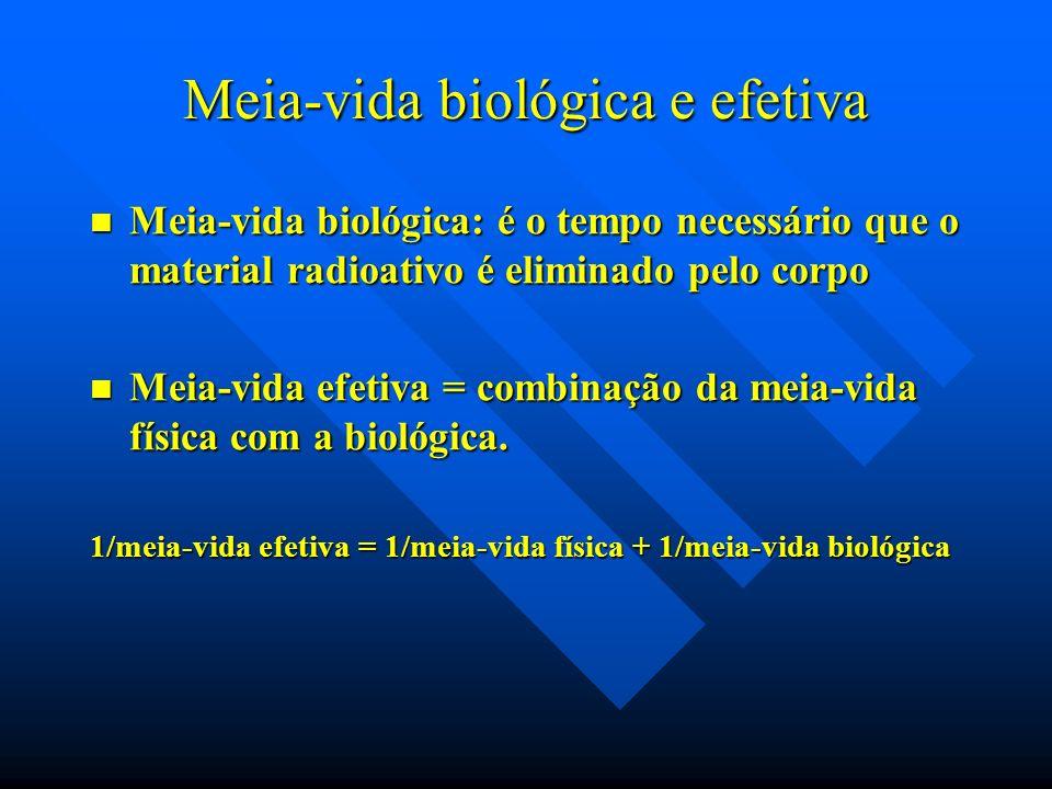 Meia-vida biológica e efetiva