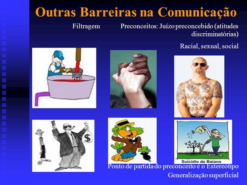 Outras Barreiras na Comunicação