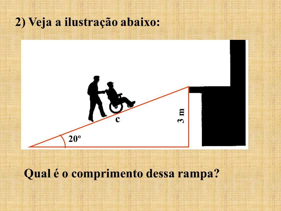 2) Veja a ilustração abaixo: