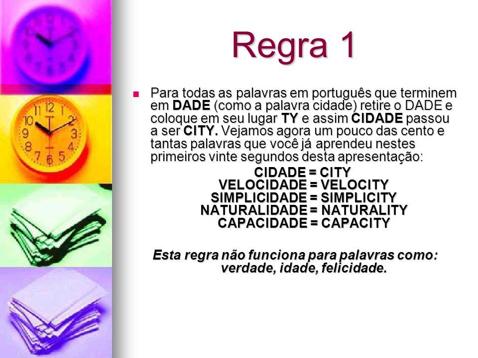 Regra 1