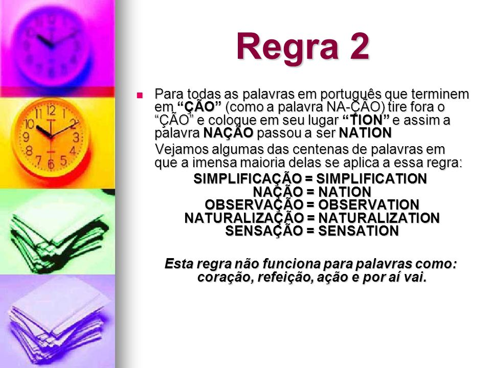 Regra 2