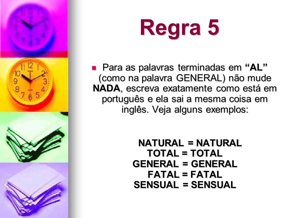 Regra 5