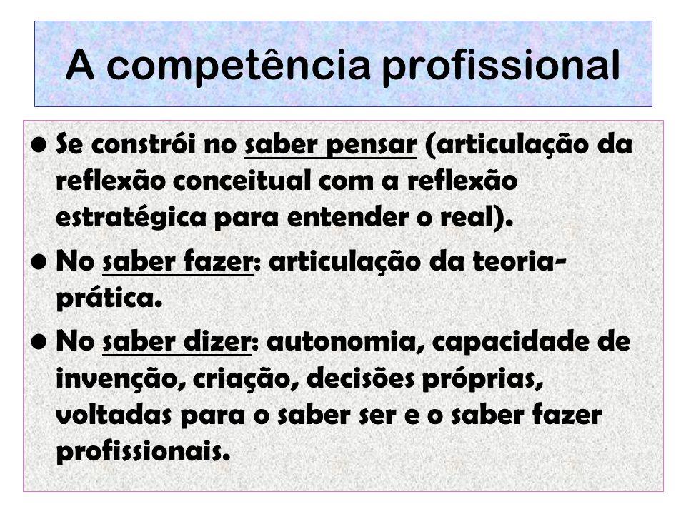 A competência profissional