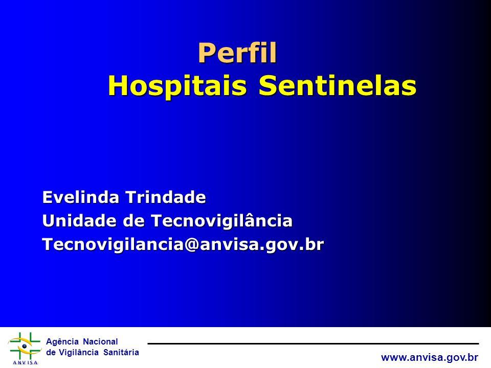 Perfil Hospitais Sentinelas