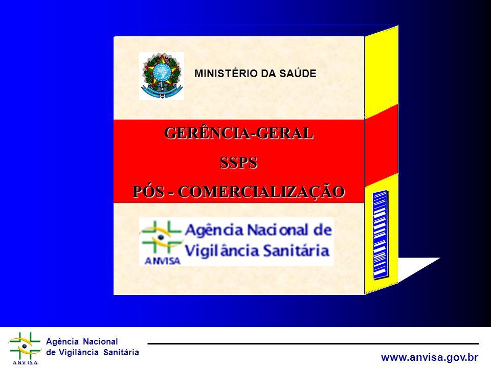GERÊNCIA-GERAL SSPS PÓS - COMERCIALIZAÇÃO