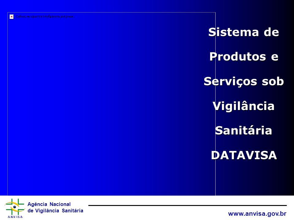 Sistema de Produtos e Serviços sob Vigilância Sanitária DATAVISA