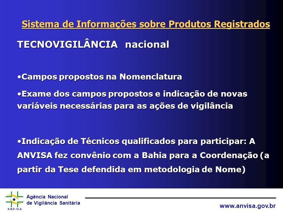 Sistema de Informações sobre Produtos Registrados