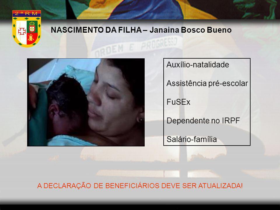 NASCIMENTO DA FILHA – Janaina Bosco Bueno