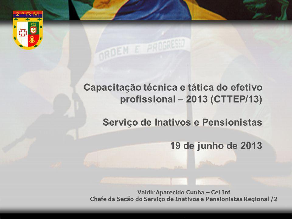 Capacitação técnica e tática do efetivo profissional – 2013 (CTTEP/13)