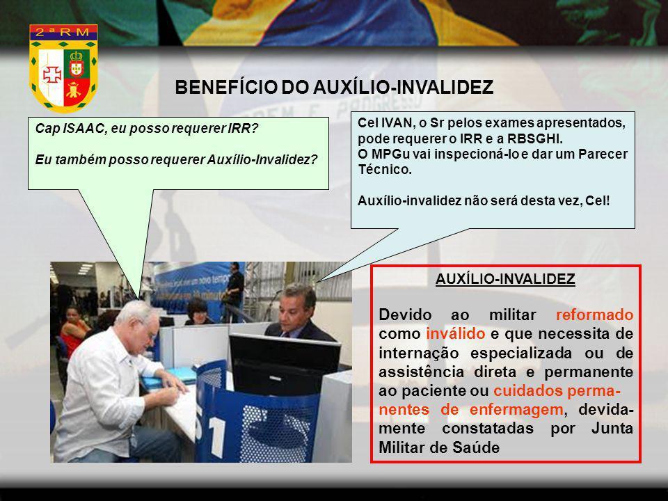 BENEFÍCIO DO AUXÍLIO-INVALIDEZ