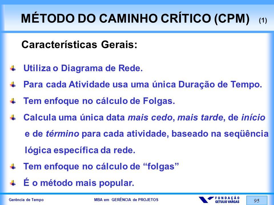 MÉTODO DO CAMINHO CRÍTICO (CPM) (1)