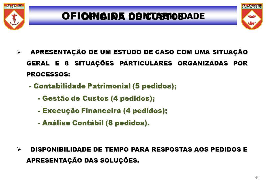 OFICINA DE CONTABILIDADE