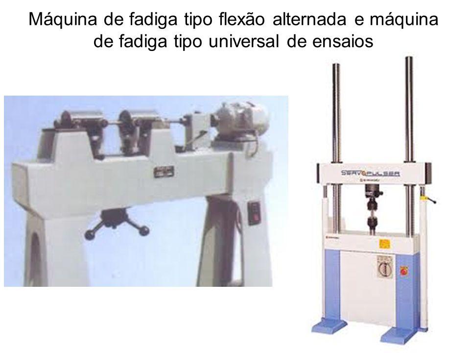 Máquina de fadiga tipo flexão alternada e máquina de fadiga tipo universal de ensaios