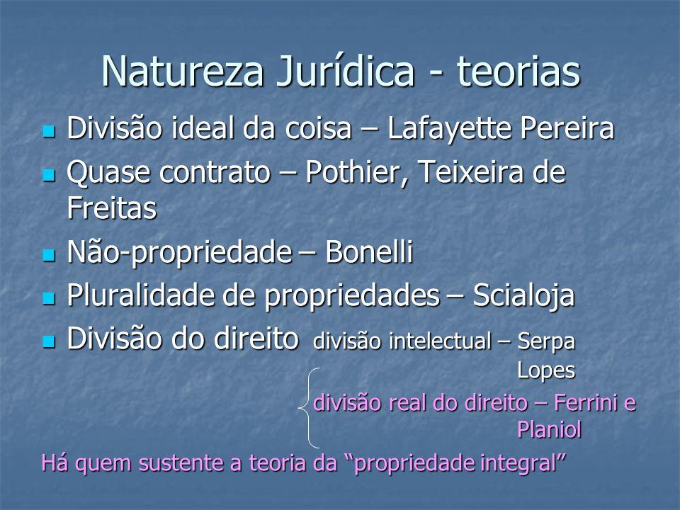 Natureza Jurídica - teorias
