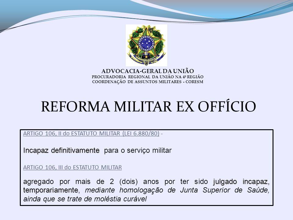 COORDENAÇÃO DE ASSUNTOS MILITARES - CORESM